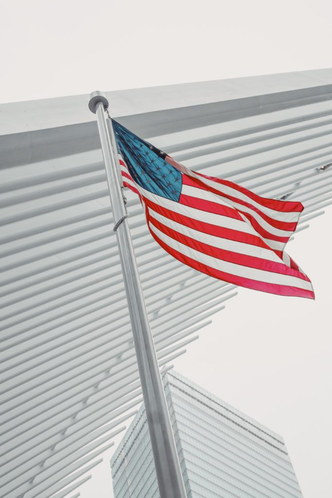 this image shows the american flag to show the different facets of the us government